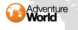 Logo for Adventure World'
