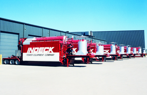Indeck has mobile and trailer mounted boilers.'