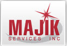 Majik Cleaning Services Logo