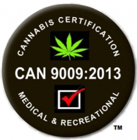 CAN 9009:2013 Logo - Cannabis Certification