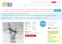 Combined Heat and Power (CHP) in North America and Europe
