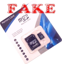 Fake Micro SD Card