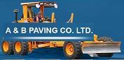 A & B PAVING LTD Logo