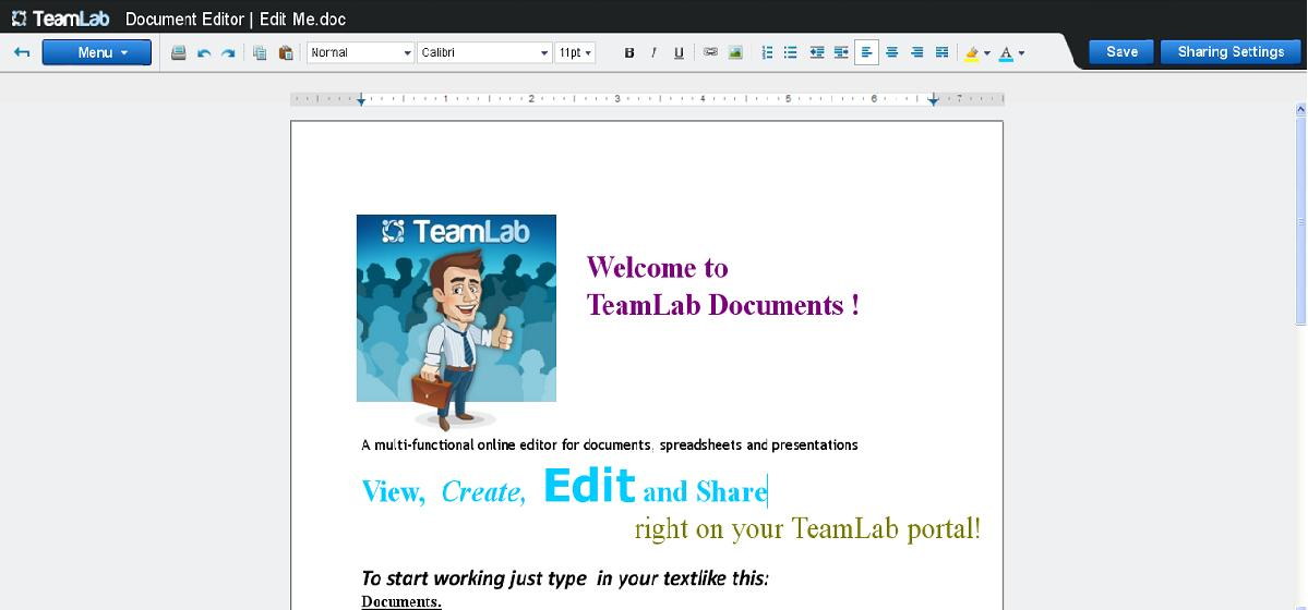 Teamlab Documents