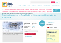 Construction sector in Slovakia 2014