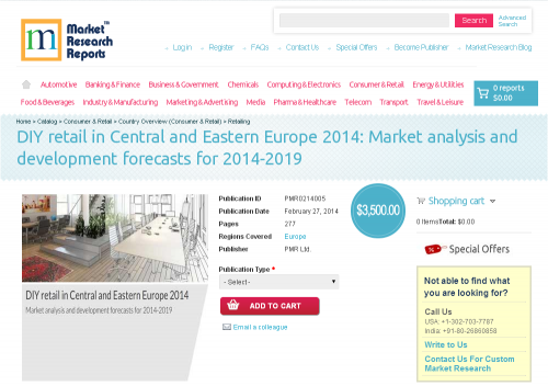 DIY retail in Central and Eastern Europe 2014'