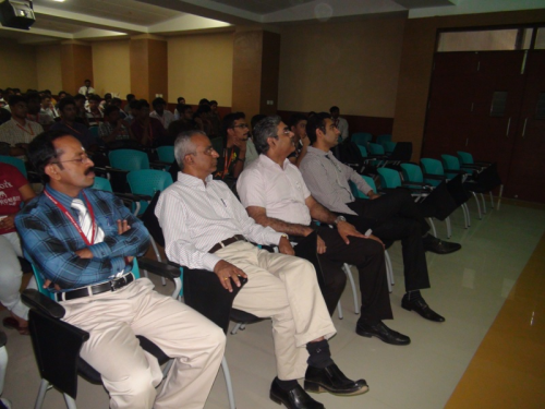Aeronautical Guest Lecture at MVJCE'