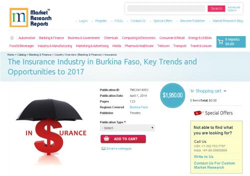 Insurance Industry in Burkina Faso'