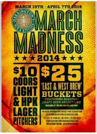 Harrington's Pub & Kitchen March Madness Specia