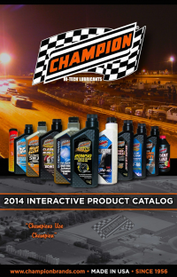 NEW - Champion Oil 2014 Interactive Catalog