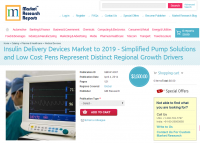 Insulin Delivery Devices Market to 2019