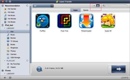 Leawo iPhone Transfer for Mac'