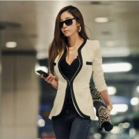 Generous Fashion Office Suit Blazer