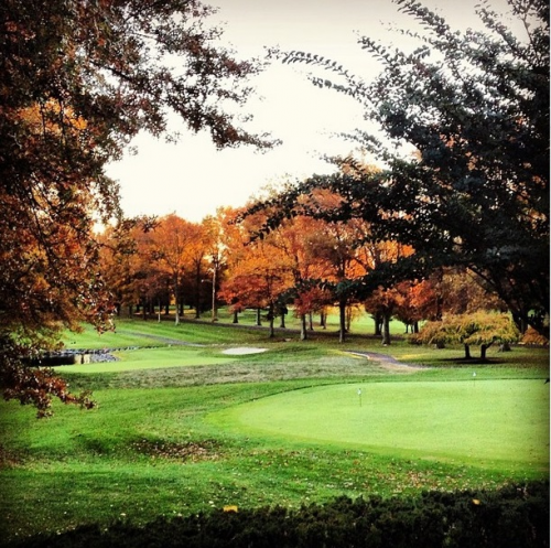 Northampton Valley Country Club Green & Trees'