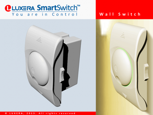 Luxera SmartSwitch Lighting Automation System'