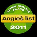 Angie's List Super Service Award'