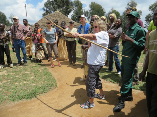Rwandan Guides Heartfelt Associates'