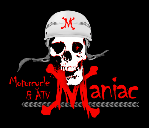 Logo for Motorcycle and ATV Maniac'