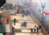 The Bombing Site - Boston Marathon Finish Line'