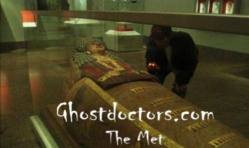 Ghost Doctors Metropolitan Museum of Art NYC'