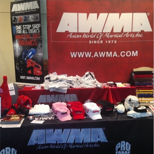 AWMA booth at the Amerikick2014 Internationals'