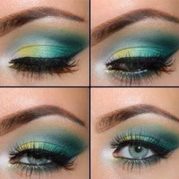 green sacha eyeshadow