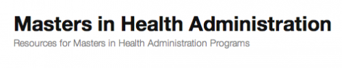 Masters in Health Administration Guides'
