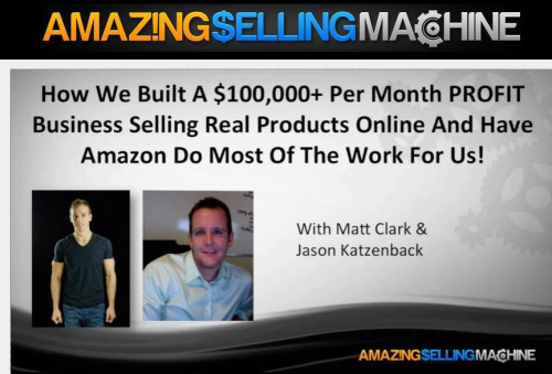 Amazing Selling System'