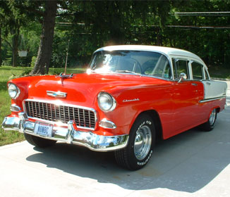 1955 Chevy For Sale with V8 Engine'