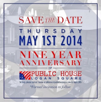 Public House Philly 9 Year Anniversary!