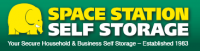 SPACE STATION - SECURE SELF STORAGE Logo