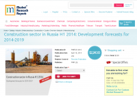Construction sector in Russia H1 2014