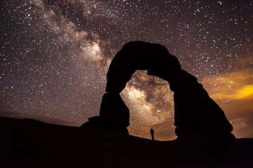 Starry Skies at Arches National Park'