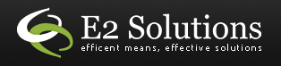 Logo for E2 Solutions'