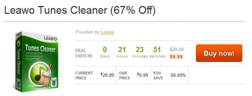Tunes Cleaner Deal'