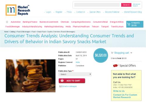 Indian Savory Snacks Market - Consumer Trends Analysis'