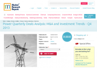 Power Quarterly Deals Analysis: M&A and Investment T