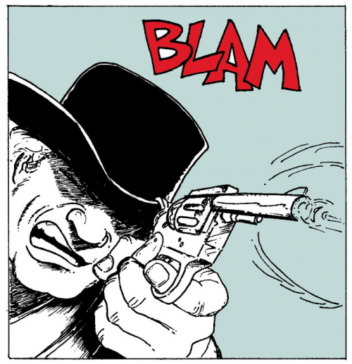 Comic Book Action Anthology  Rick Brooks'
