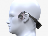 iEAR Bluetooth4.0 Bone Conduction Headset Team iTOMO
