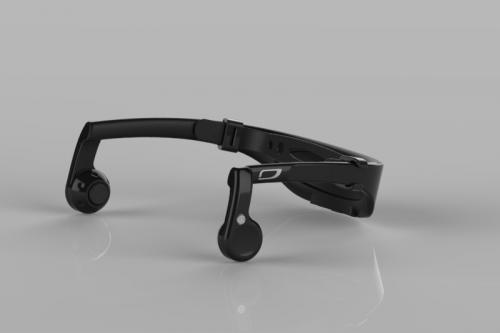 iEAR Bluetooth4.0 Bone Conduction Headset Team iTOMO'