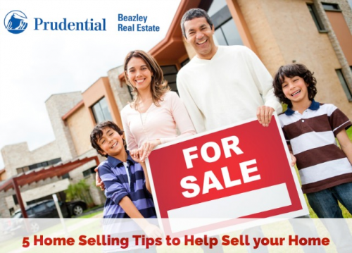 5 Home Selling Tips to Help Sell your Home'