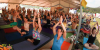 Yoga at ARISE Music Festival ☆ Aug 8, 9, 10 -  2014'