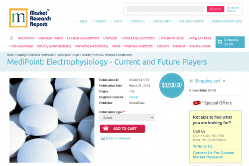 Electrophysiology Current and Future Players'