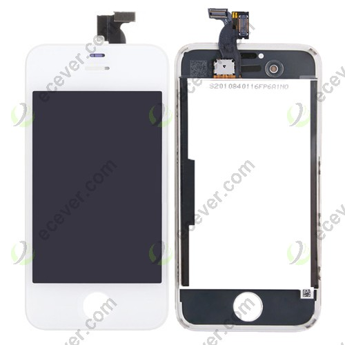 White iPhone 4S LCD Screen'