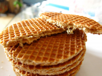 Dutch Stroop waffles and Poffertjes Sweet Amsterdam