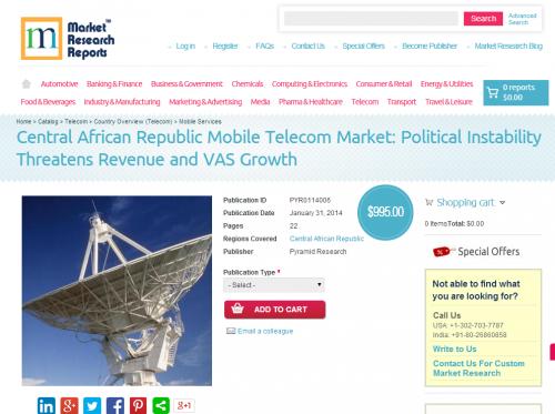 Central African Republic Mobile Telecom Market'