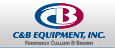 Company Logo For C and B Equipment'