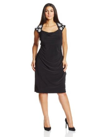 Black MSK Plus Size Dress'