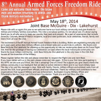Barb's Harley-Davidson Sponsor of Armed Forces Fre