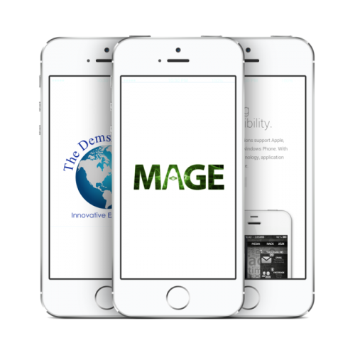 MAGE Mobile Applications The Demski Group'